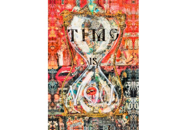"""Foulard """"TIME IS YOU"""""""